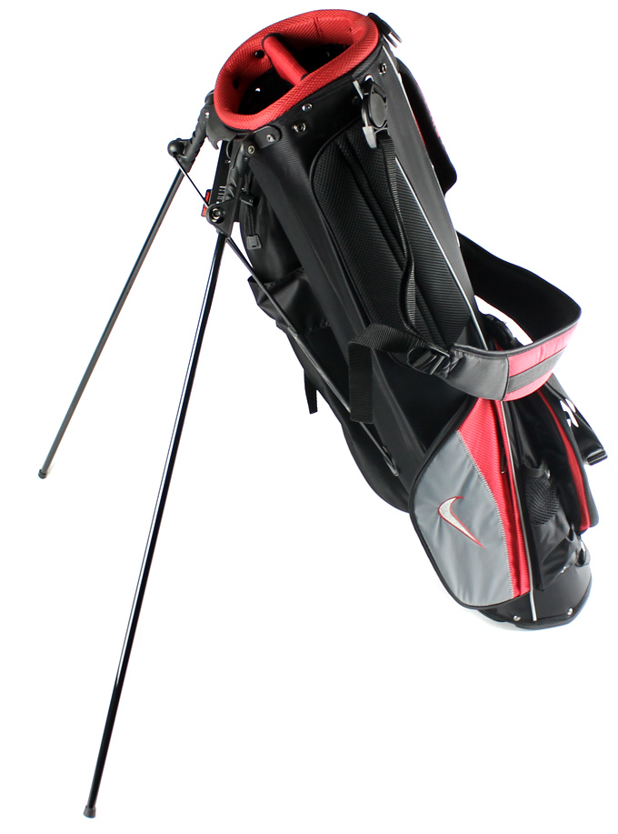 Nike Sunday Carry Golf Bag Lightweight (Red)