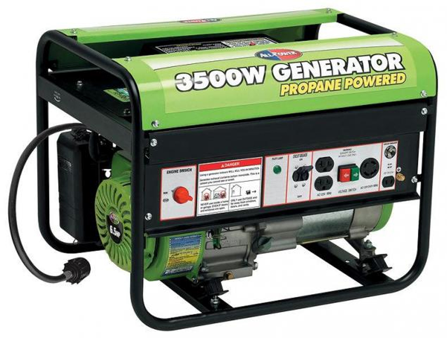 All Power APG3535CN 6.5 Hp 3000W Propane Powered Portable Generator
