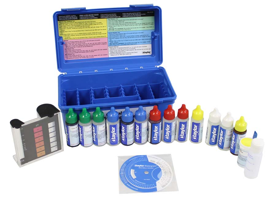 Taylor K-2006 Complete Pool Test Kit | FAS-DPD