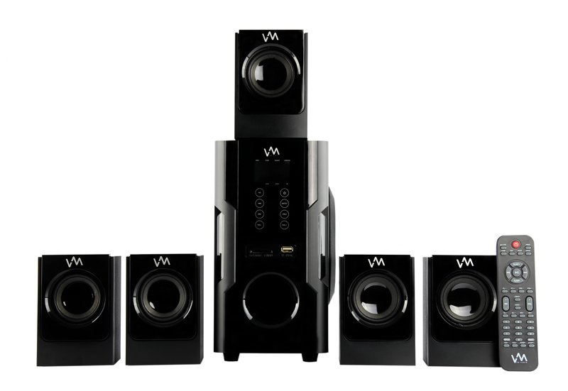 VM Audio 5.1 Home Multimedia Surround Sound System | EXMS520T