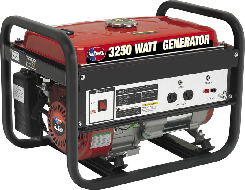 All Power APG3012 6.5Hp 3250W Gas Powered Portable Generator