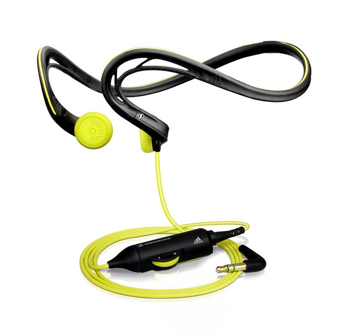 Sennheiser Adidas Sports Earbud Headphone with Volume Control & Neckband | PMX 680