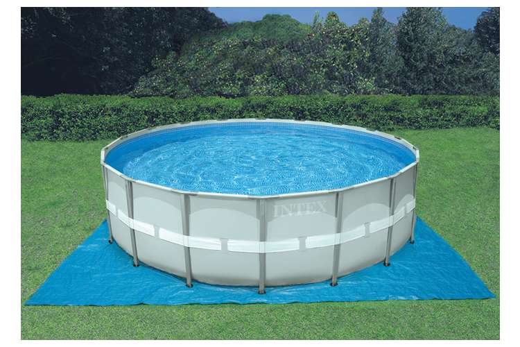 Intex 20 39 X 52 Ultra Frame Above Ground Swimming Pool Set With Sand Filter Pump 28339tt