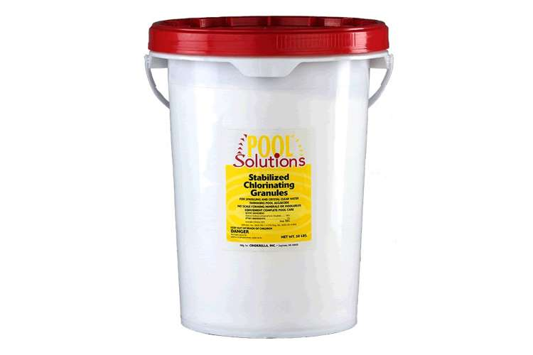 P56050DE�Pool Solutions Pool/Spa Chlorine Granules (50 lb Buck)