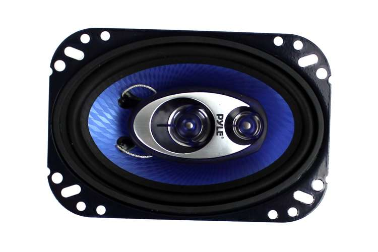 PL463BL�Pyle PL463BL 4x6-Inch 240W Three-Way Speakers (Pair)
