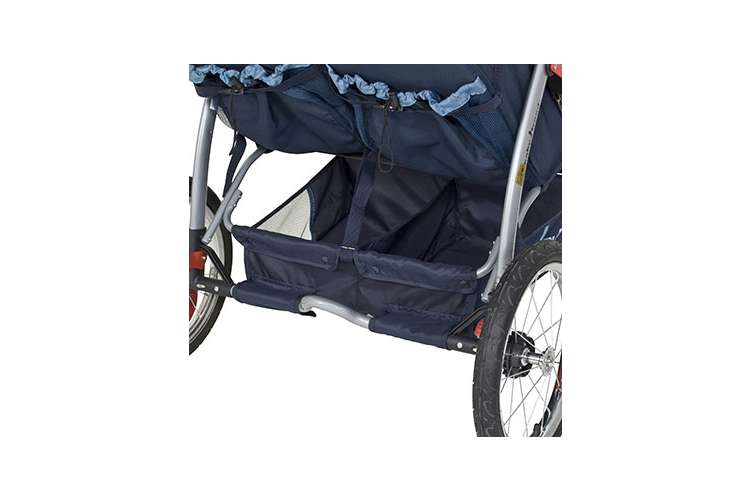 DJ96526�Baby Trend Expedition Swivel Double Jogging Stroller (Vision) | DJ96526