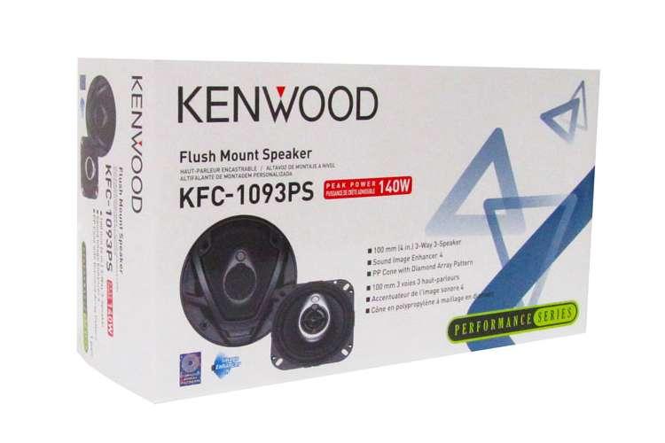 KFC1093PS�Kenwood KFC-1093PS 4-Inch 140 Watt 3-Way Car Audio Speakers (Pair)