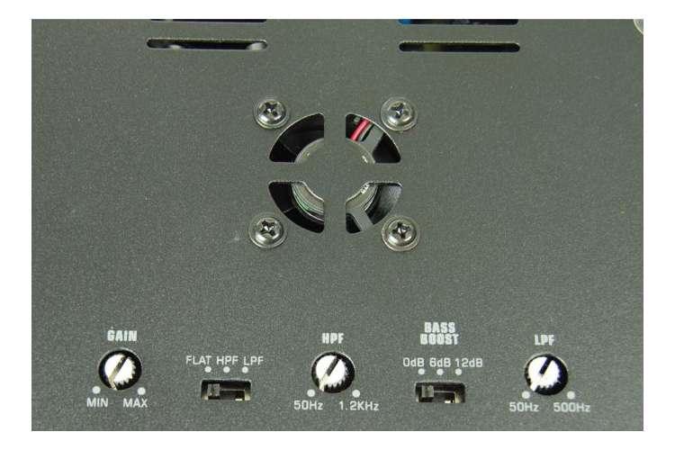 APSM2075�Audiopipe APSM-2075 440W 2 Channel Mini Amplifier