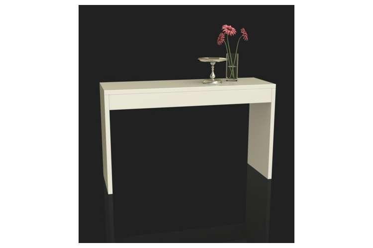R4-0116�Northfield Modern Espresso Wood Console Hallway Table - White | 111091W