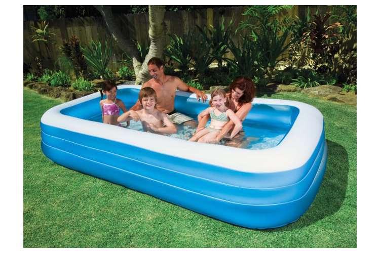 Intex swim center family swimming pool 72 x 120 for Intex pool 120 hoch